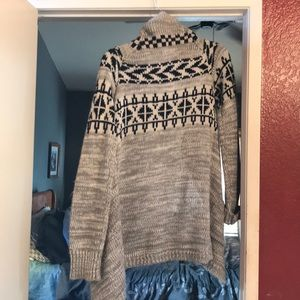 Women's long sweater